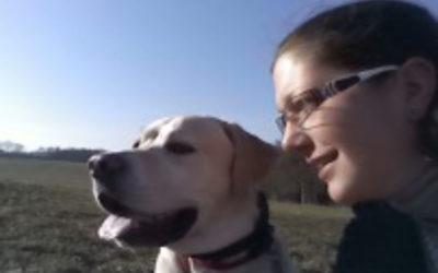 Anja Hilpert und Marley, Ausbildung zum Therapiehundeteam